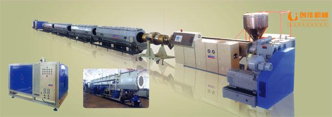 亚虎国际娱乐(唯一)平台_HDPE供水管及燃气管挤出生产线